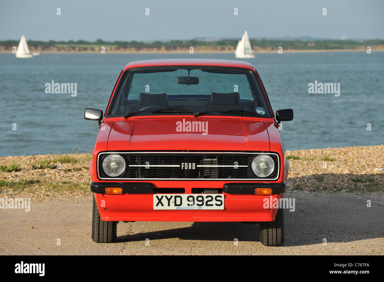 1977 ford escort rs 1800 photo stock
