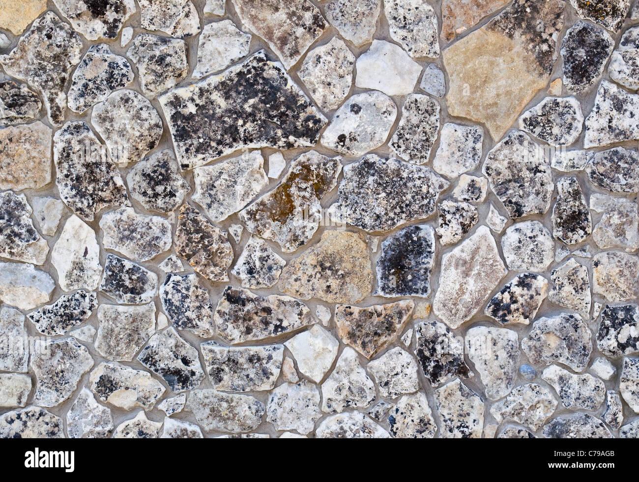 Les murs de pierre de texture en arrière-plan Banque D'Images