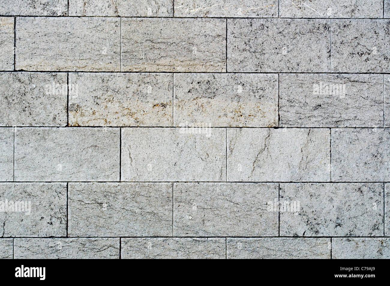 Les murs de pierre de texture en arrière-plan Photo Stock