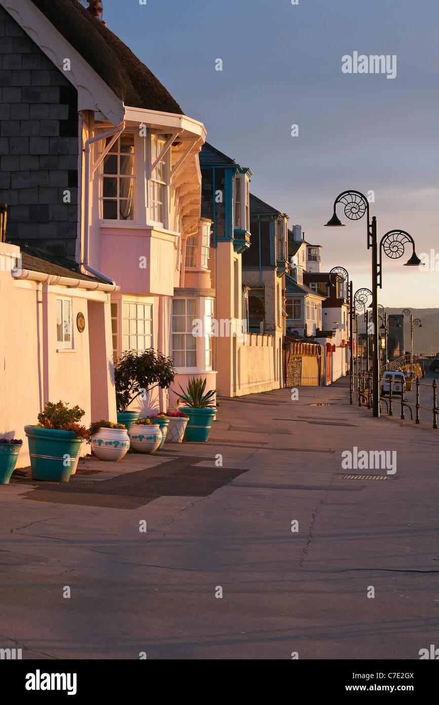 Lyme Regis, dans le Dorset, uk Banque D'Images