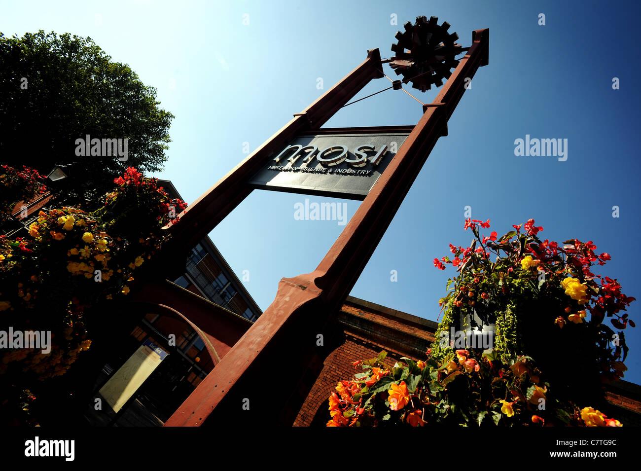 Le Musée des sciences et de l'industrie, Manchester, Angleterre. Photo par Paul Heyes, mercredi 28 septembre Photo Stock