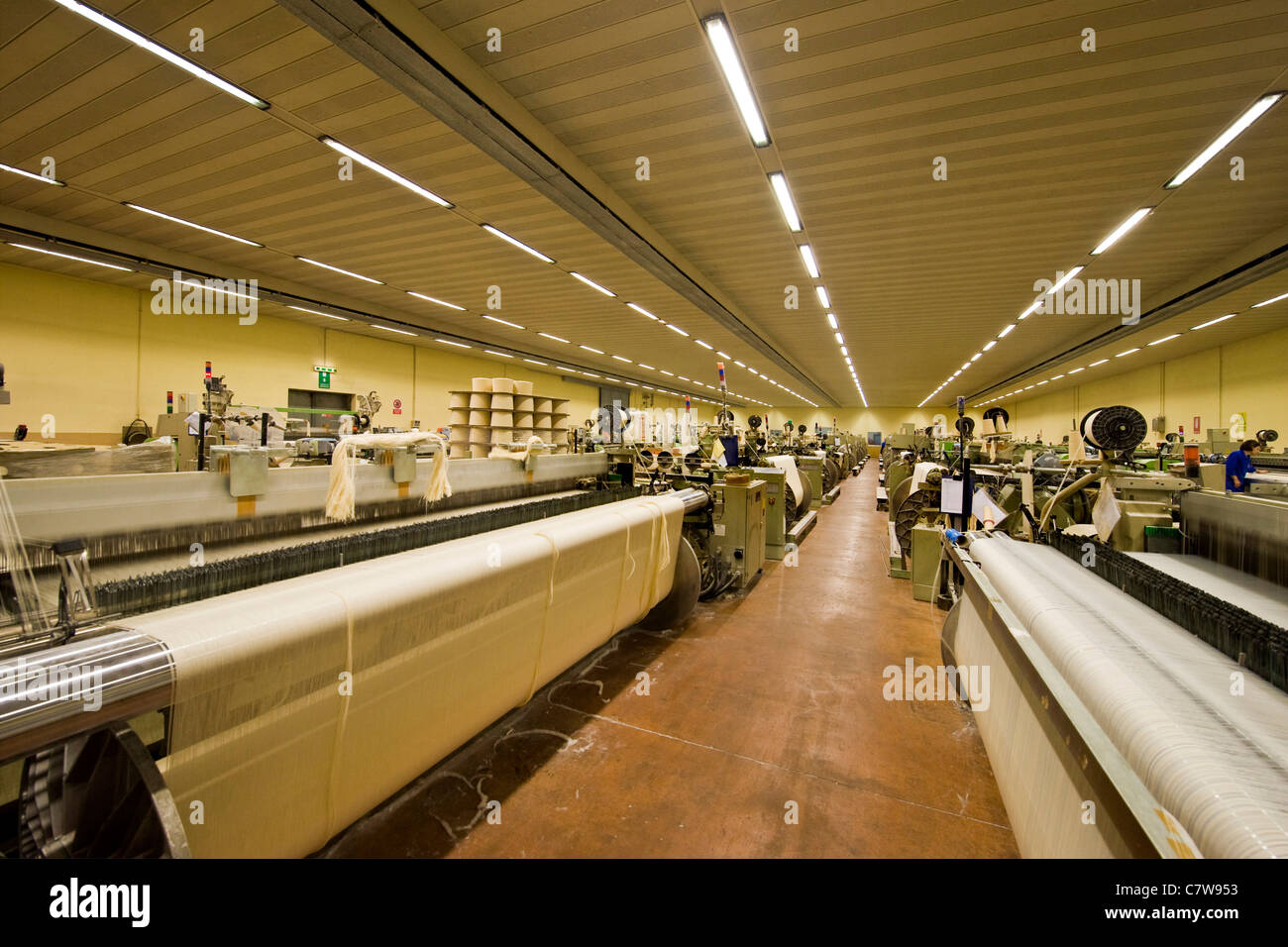 L'industrie textile Photo Stock