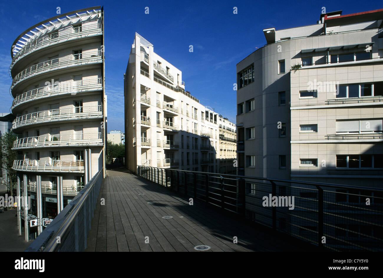 France, Île-de-France, Paris, Promenade Plante Photo Stock