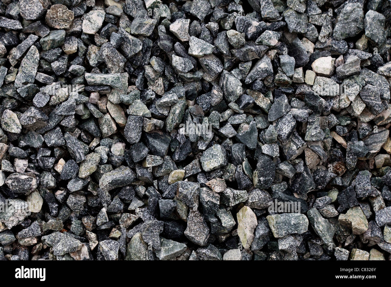 Rock fond texturé pour l'aménagement paysager Photo Stock