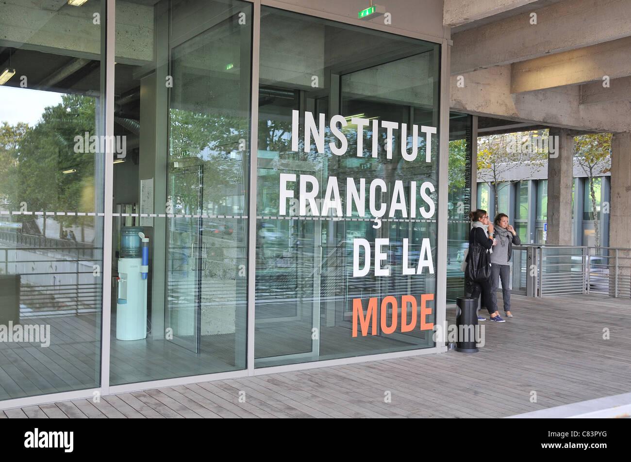 L'Institut Français de la mode Paris France Photo Stock