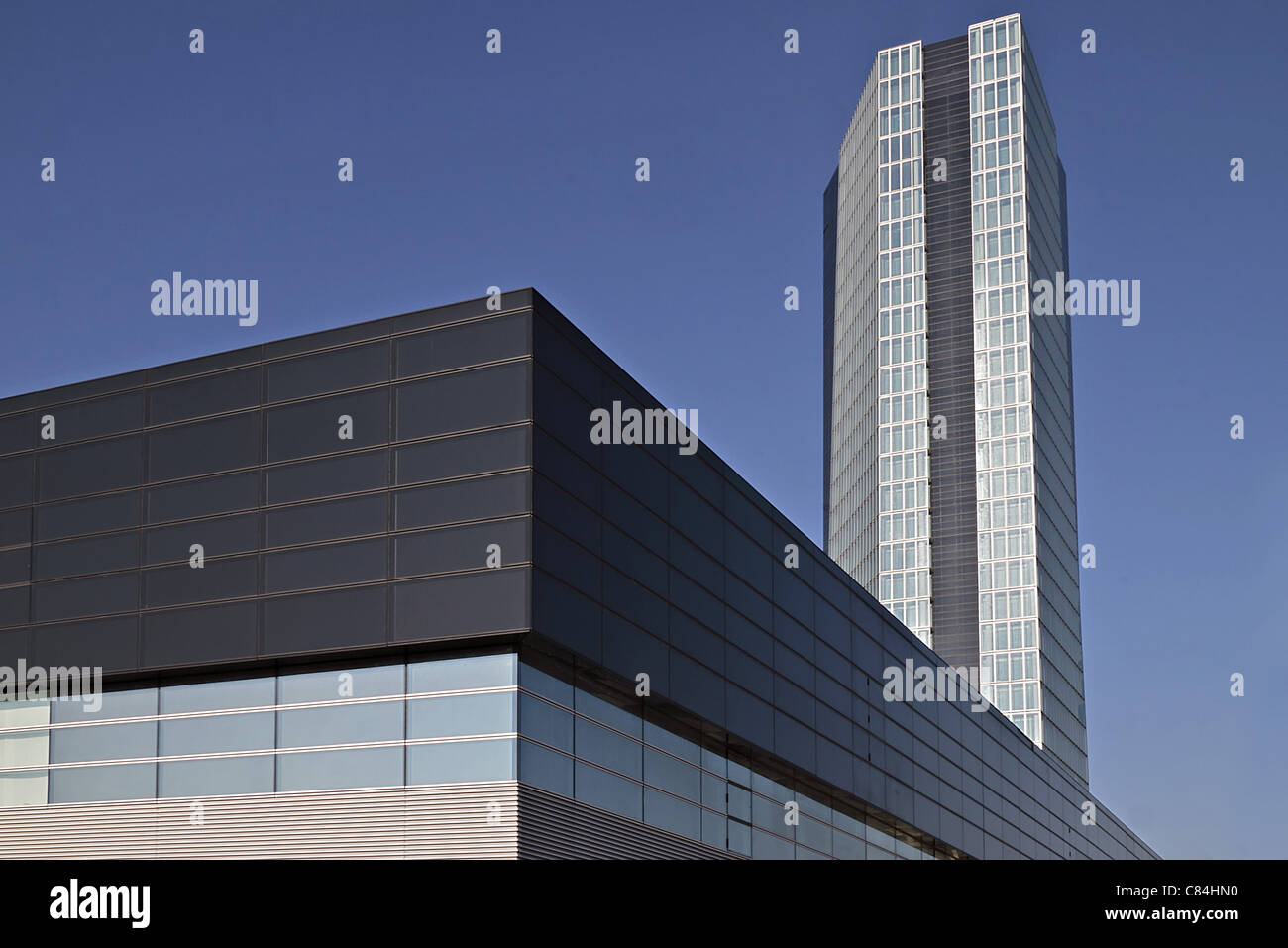 Les bâtiments modernes Photo Stock
