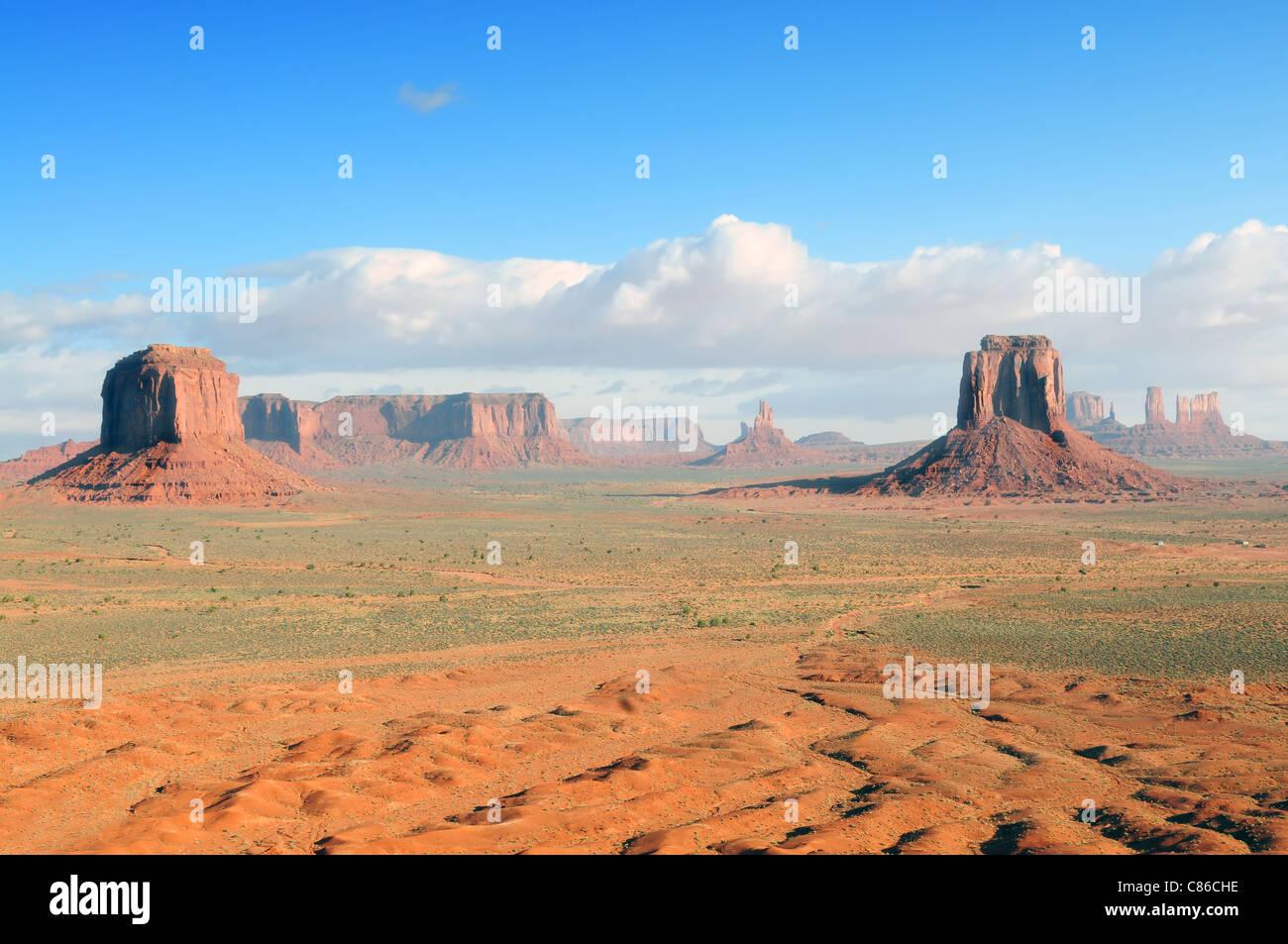 Monument Valley View de l'artiste's Point Photo Stock