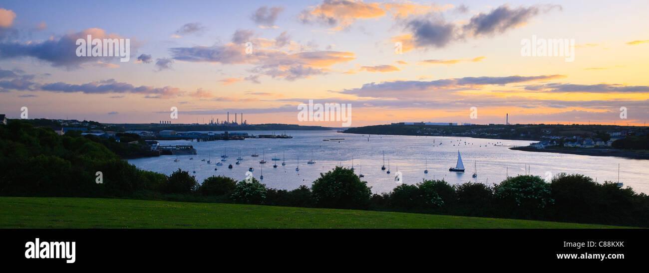 Haven Waterway Pembroke Dock, Pembrokeshire Wales Photo Stock