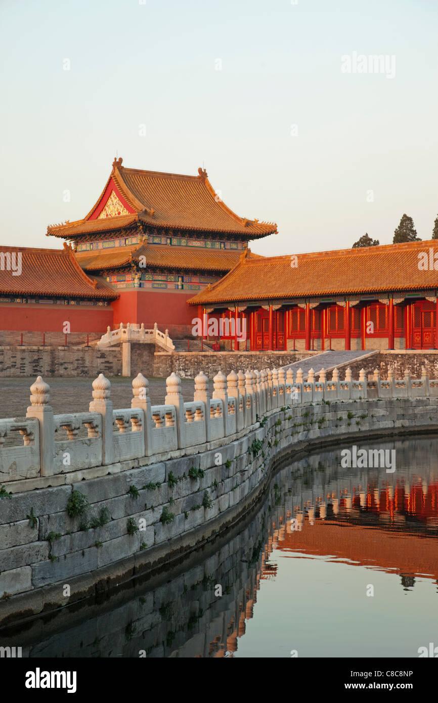 La Chine, Beijing, ou du musée du palais de la Cité Interdite Photo Stock