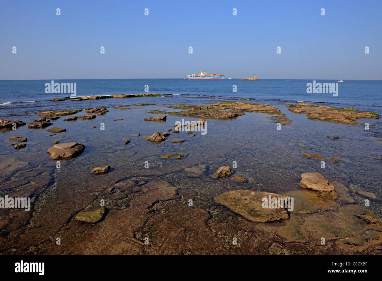 L'archipel de Livourne en Méditerranée Banque D'Images