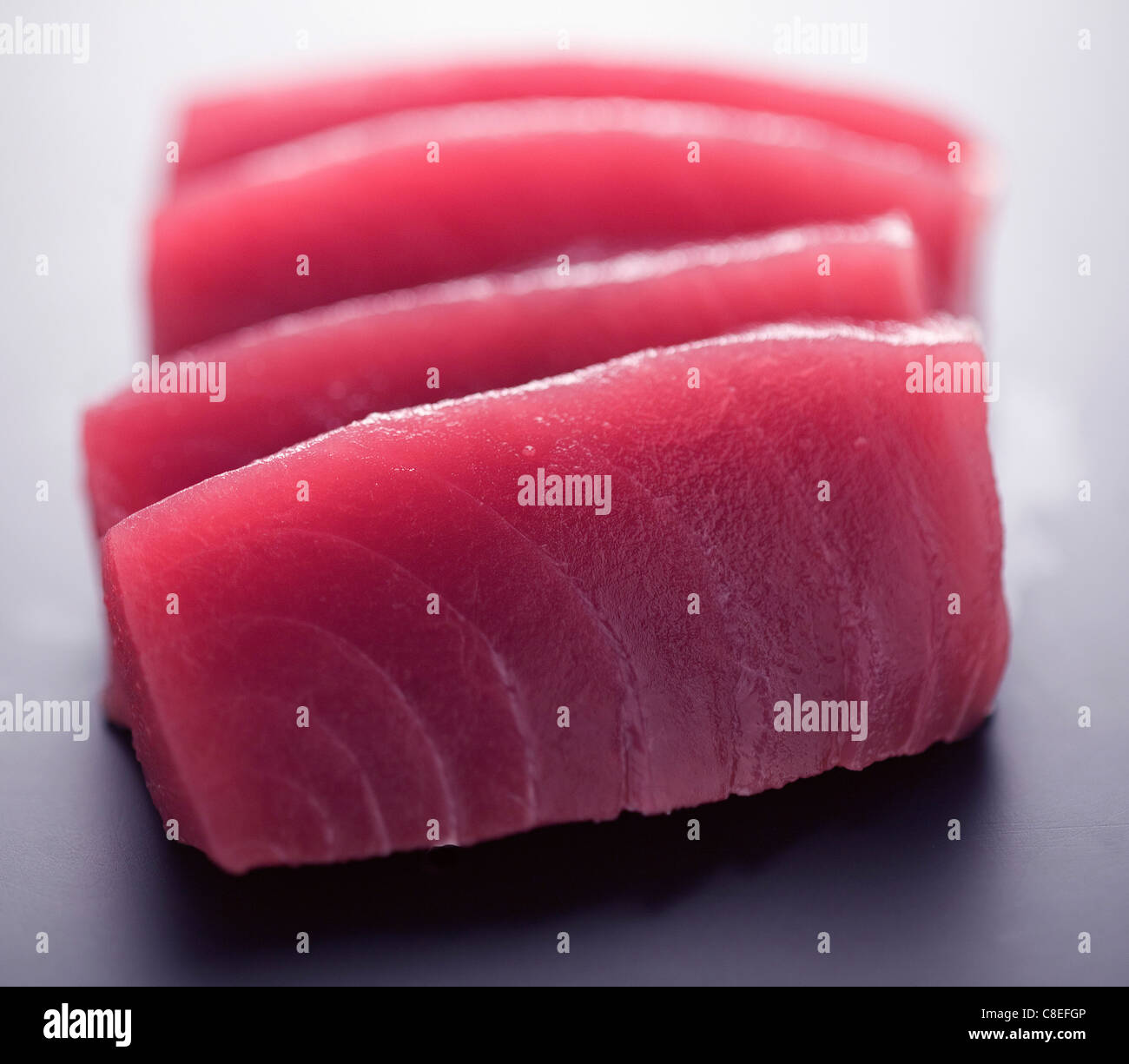 Sashimis de thon rouge Photo Stock