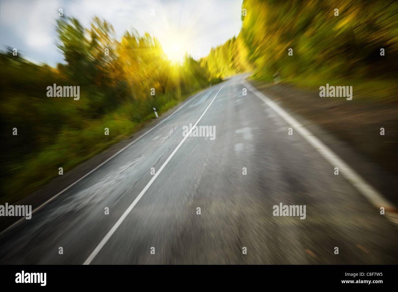 haute vitesse Photo Stock