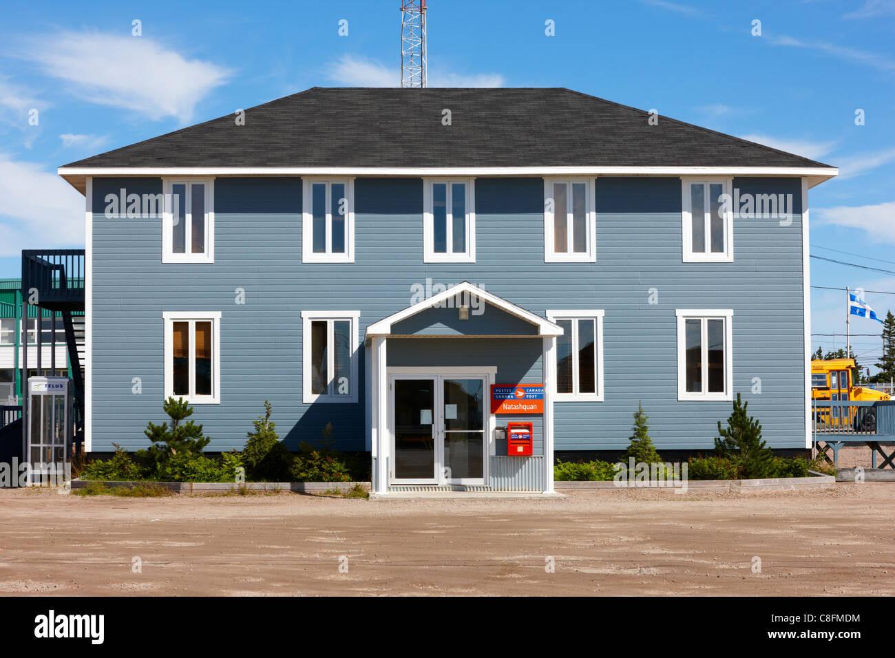 Bureau de poste de natashquan natashquan québec canada banque d