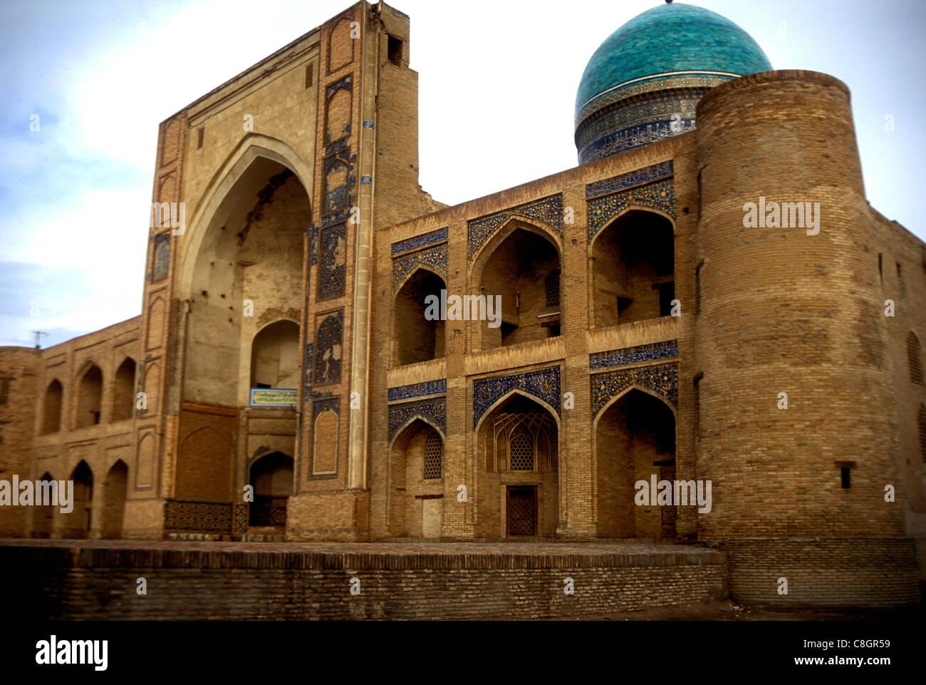 Mir-i-Arab madrassah Boukhara Ouzbékistan Photo Stock