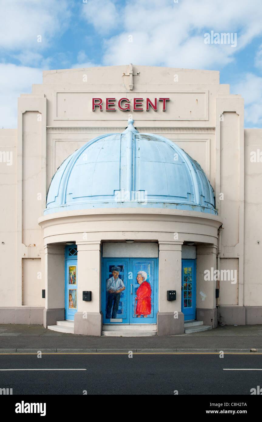 Le Regent cinéma à Deal, Kent. Photo Stock