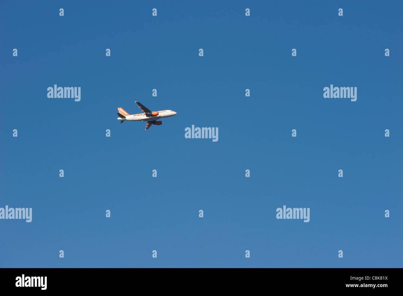EasyJet avion Photo Stock