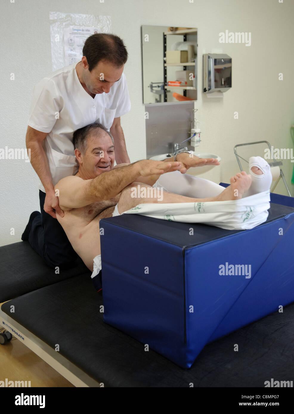 physiothérapeute datant patient
