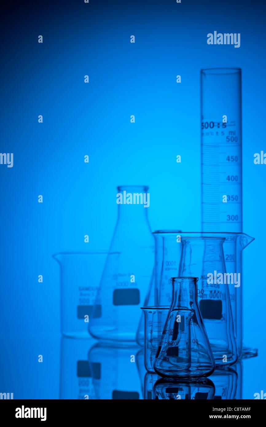 Équipements de laboratoire Photo Stock
