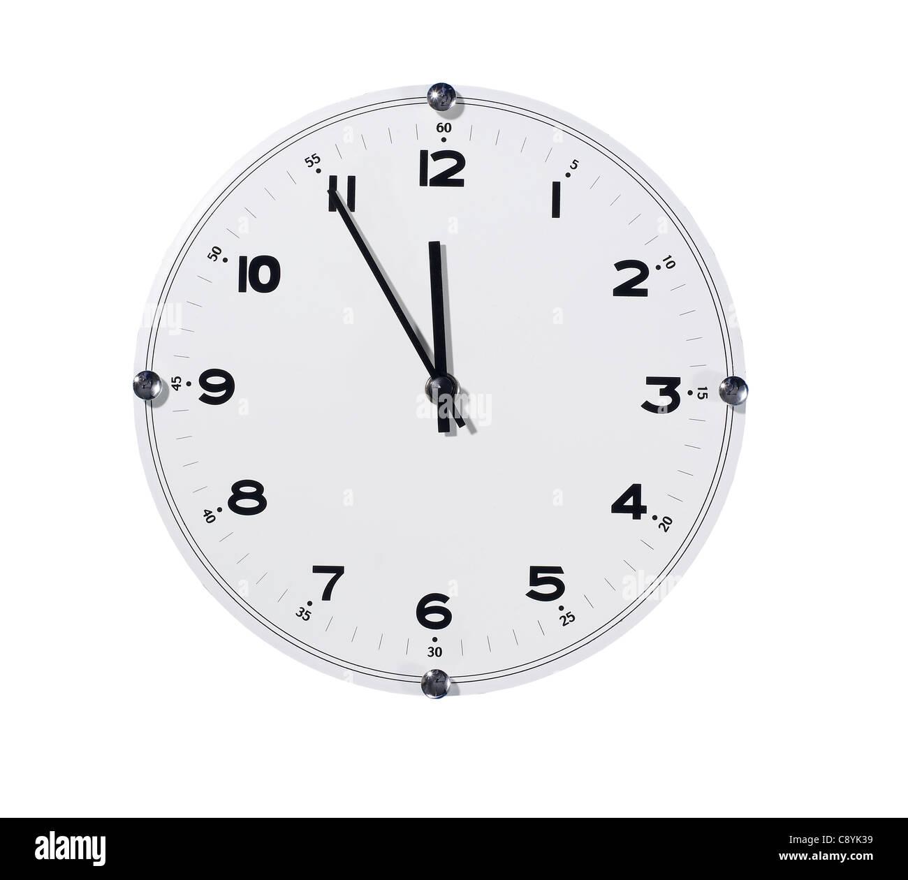 Horloge murale Photo Stock