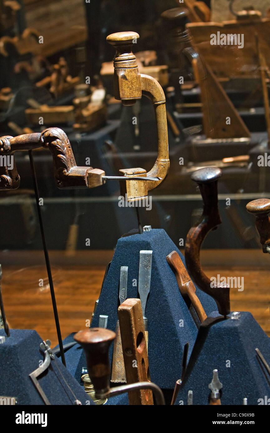 Musée de l'outil de Troyes en France Photo Stock