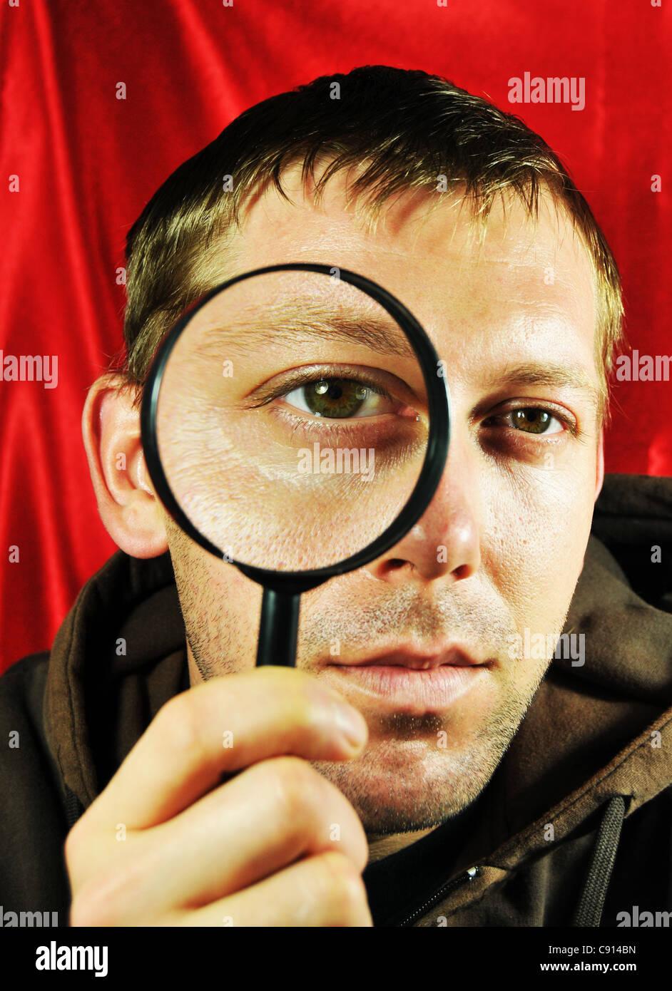 Concept de recherche Photo Stock