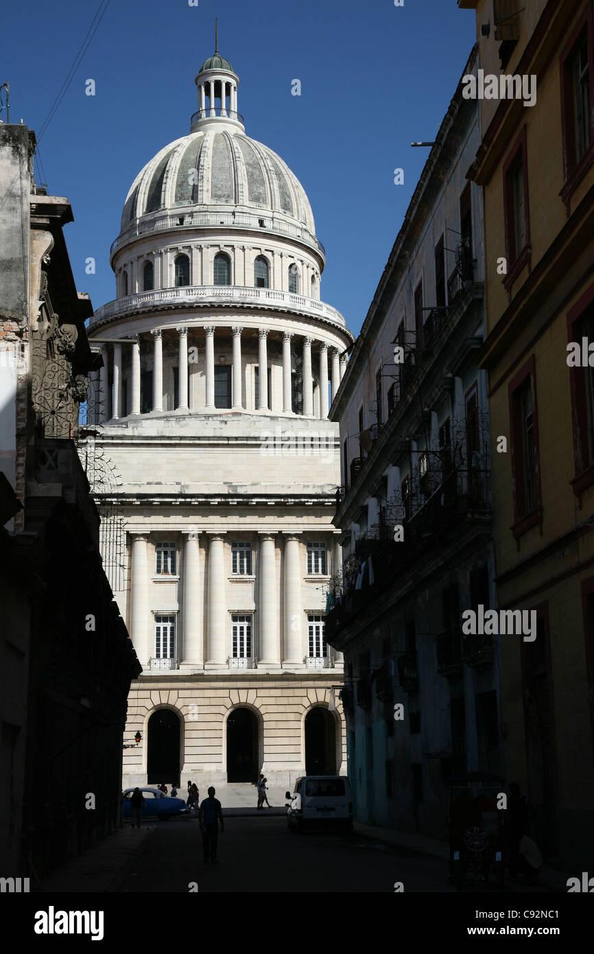 Capitole National à Paseo del Prado à La Havane, Cuba. Banque D'Images