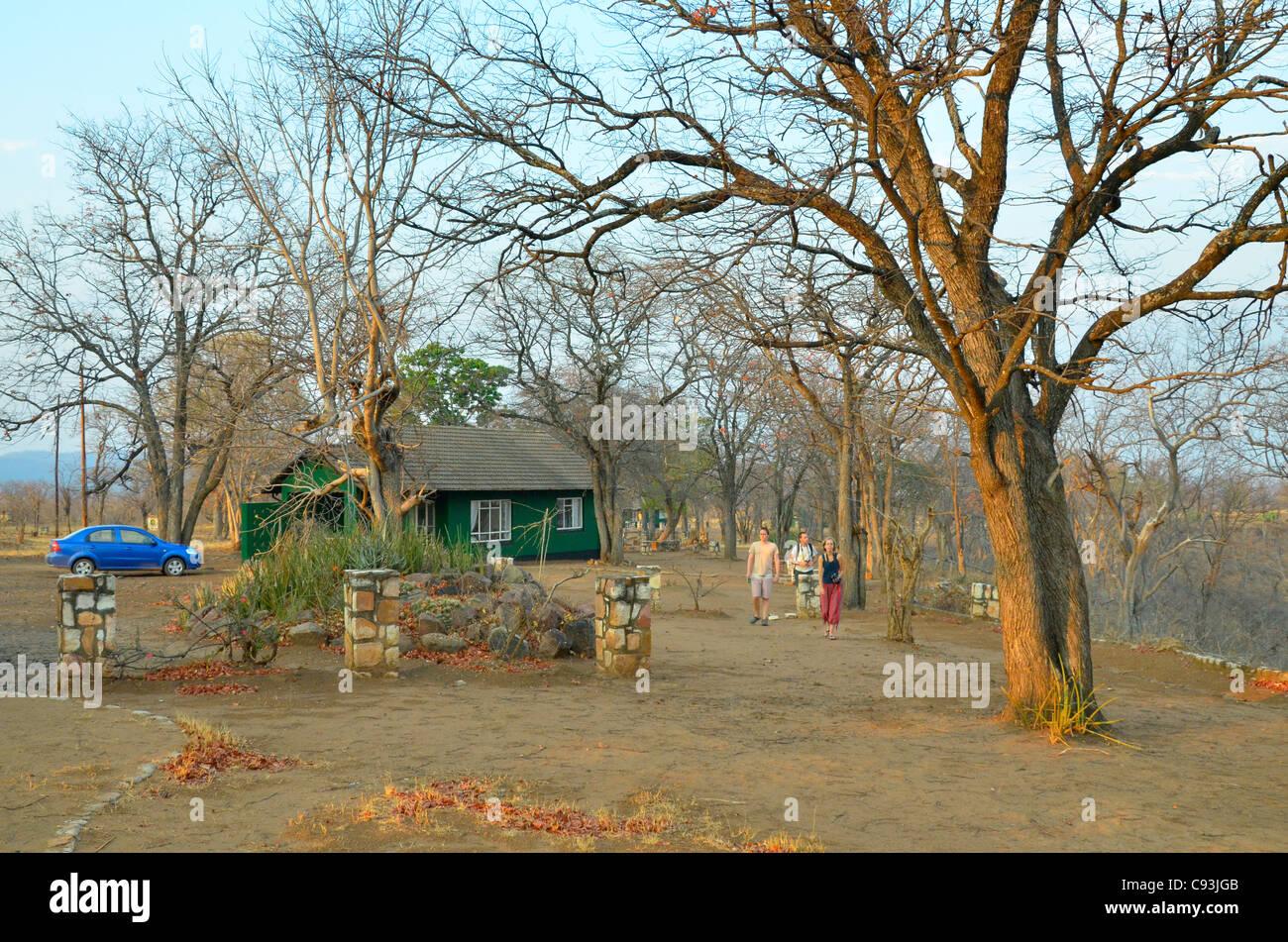 Le Zimbabwe est un petit pays doté d'une incroyable variété de paysages et d'animaux. Photo Stock