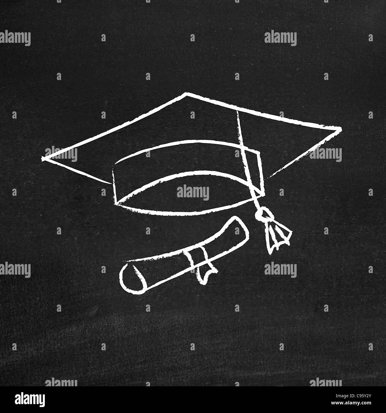 Remise des diplômes Photo Stock