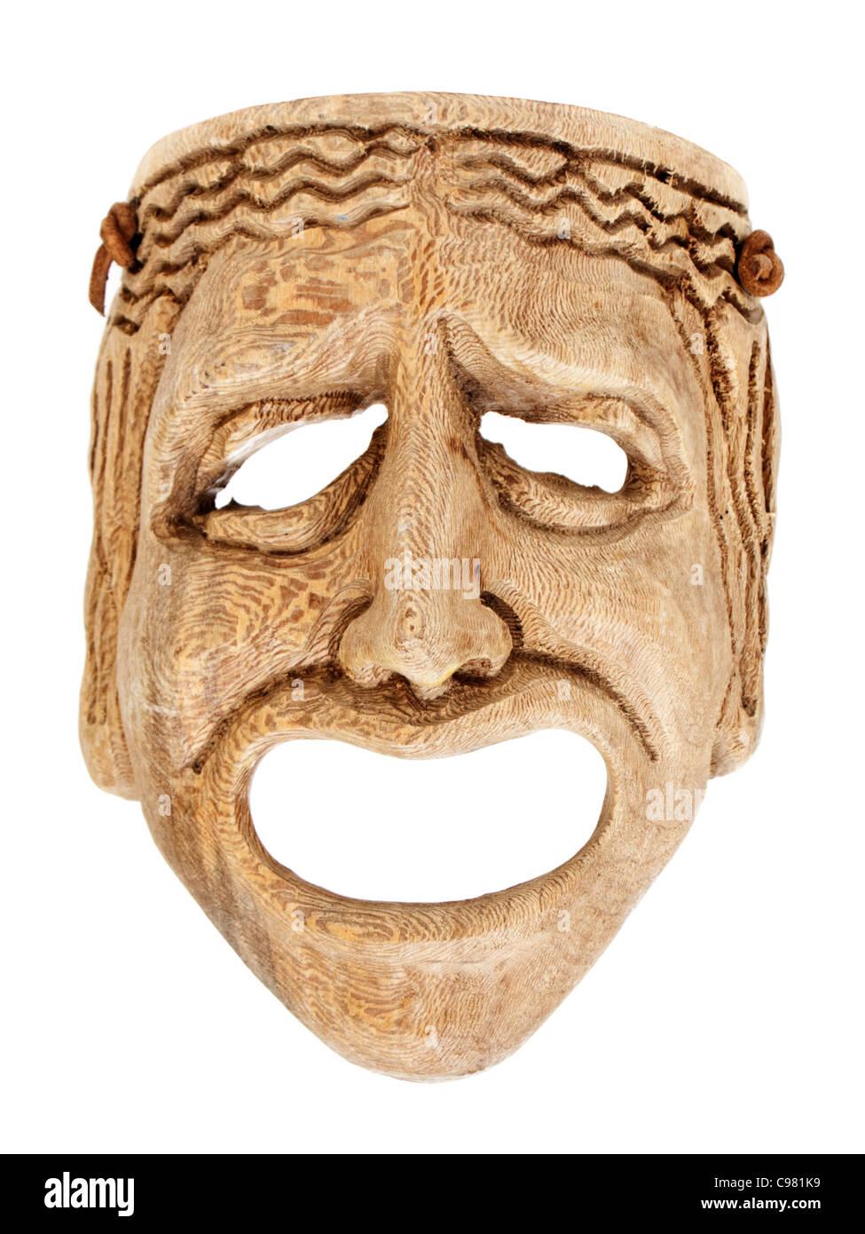Masque effrayant Banque D'Images