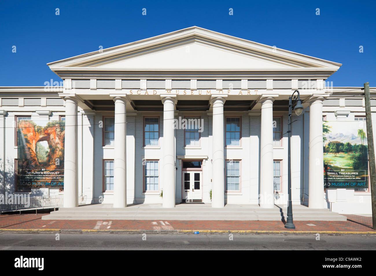 Musée de l'Art SCAD, Savannah Photo Stock