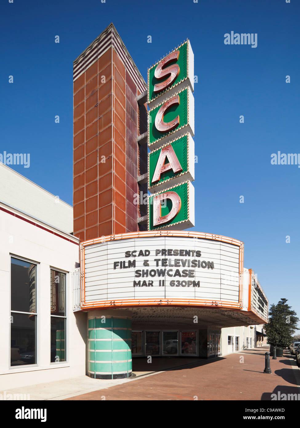 Fiduciaires SCAD Savannah, Théâtre Photo Stock