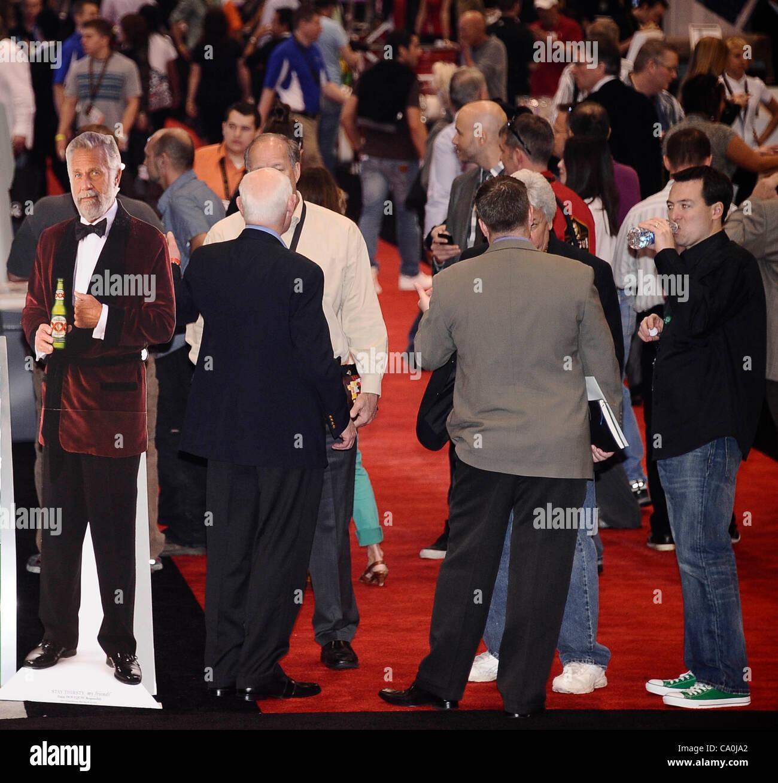2012 - Las Vegas, NV- USA. Certaines des nombreuses choses sur l'écran, au cours de la 27e édition de Nuit & Bar Convention and Trade Show de Las Vegas. (Crédit Image: ©/ZUMAPRESS.com) Blevins génique Banque D'Images