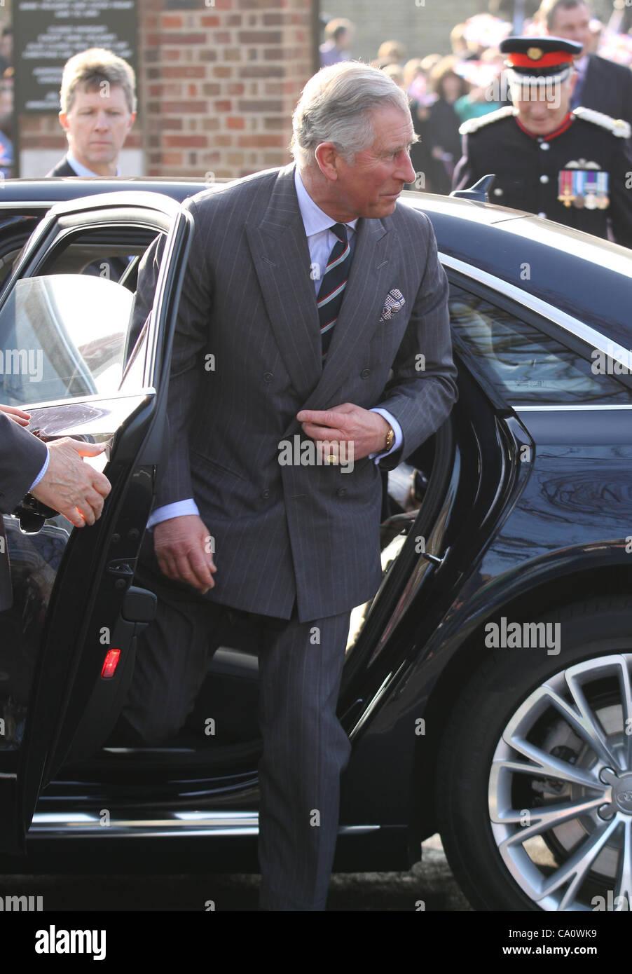 """London, UK, 15/03/2012: le prince Charles rend visite à """"la Fondation du Prince pour les enfants Photo Stock"""
