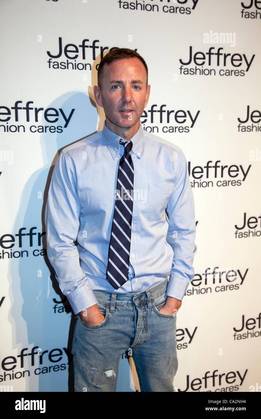 Jeffrey Kalinsky au Jeffrey Fashion Cares 2012 bénéficiant de la communauté LGBT et les personnes Photo Stock