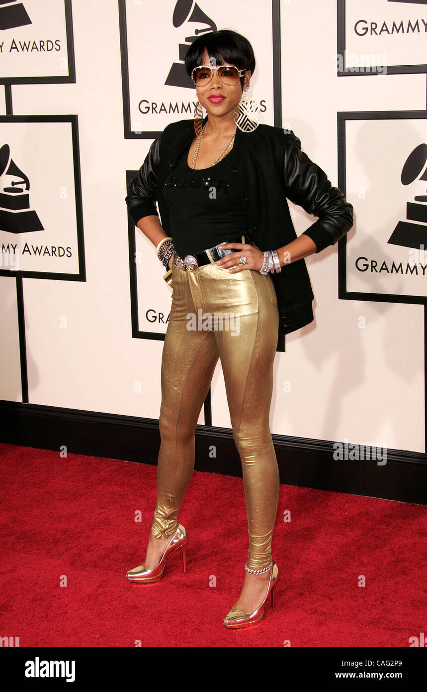 Feb 10, 2008 - Los Angeles, Californie, USA - KELIS arrive pour le Grammy Awards au Staples Center. (Crédit Photo Stock