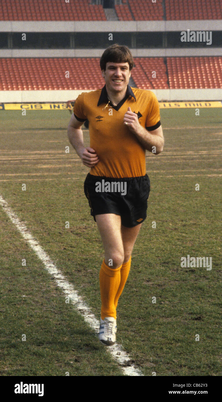 Joueur de Wolverhampton Wanderers Emlyn Hughes 1980 Photo Stock
