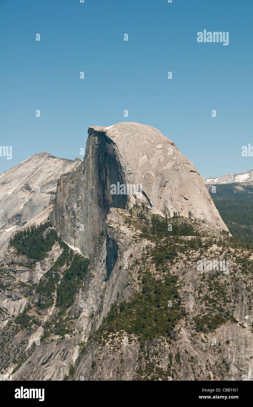 Demi Dôme, de Glacier Point, Yosemite National Park, California, USA. Photo copyright Lee Foster. Photo # Californie121308 Banque D'Images