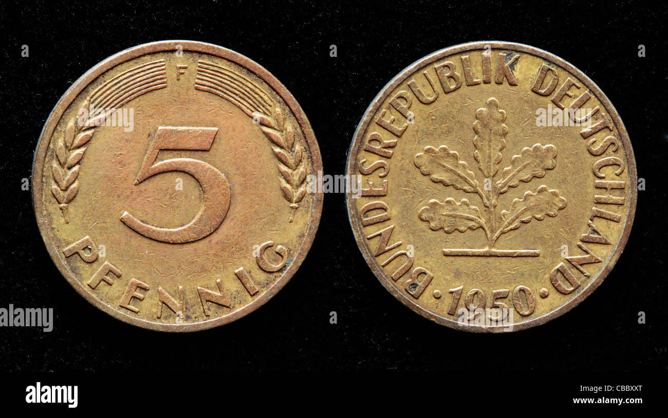 Five Pfennig Photos Five Pfennig Images Alamy