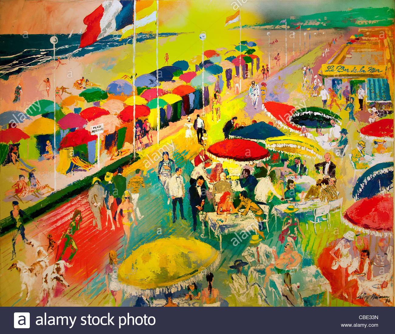 Artiste Peintre St Tropez saint tropez france par leroy neiman 1921 artiste peintre