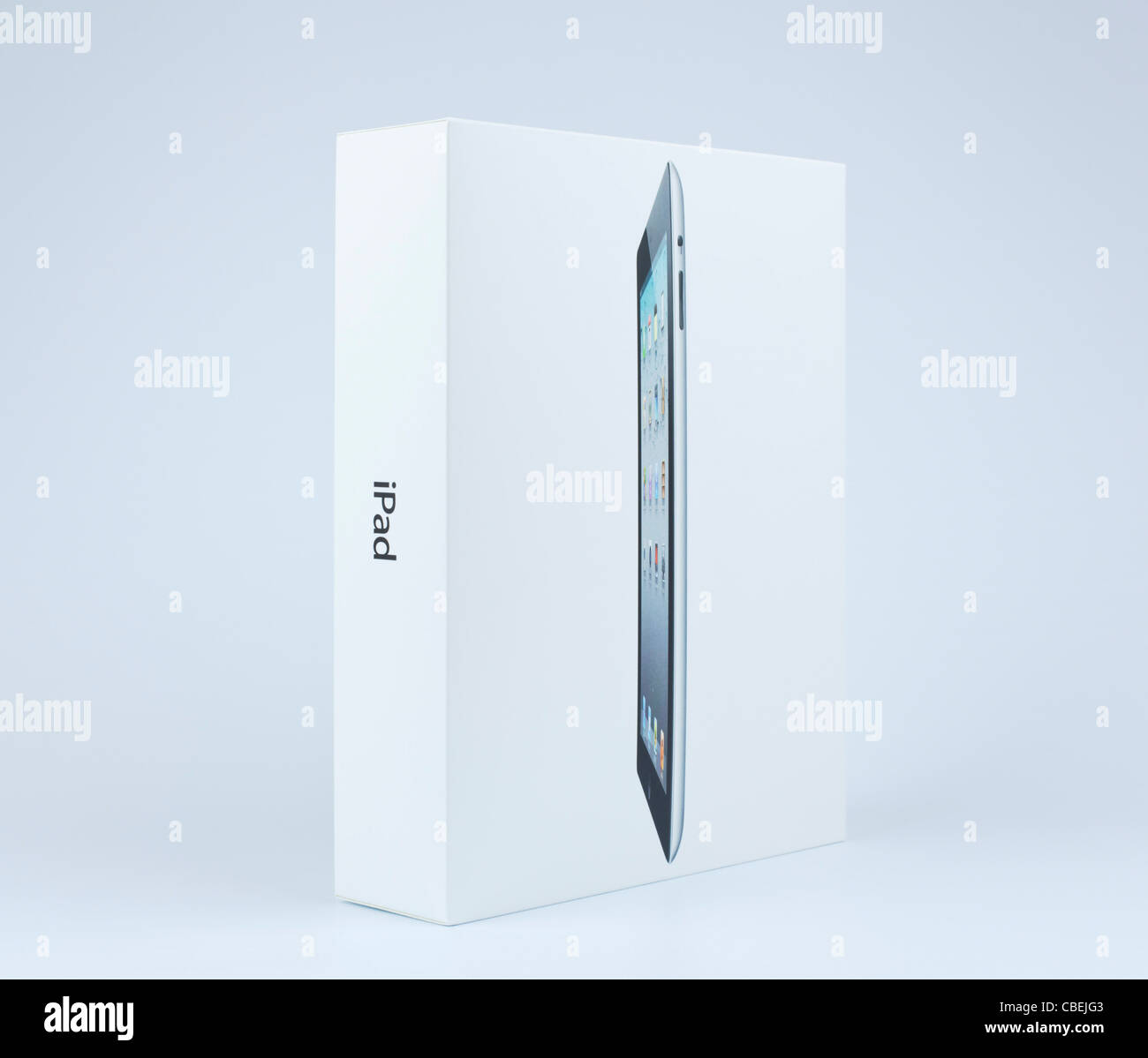 L'Ipad 2 case sur un fond blanc Photo Stock