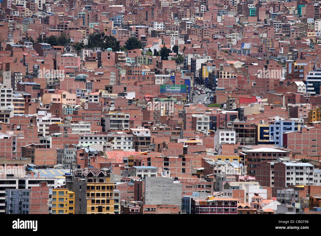Voir plus d'appartements et appartements de la ville La Paz, Bolivie Photo Stock