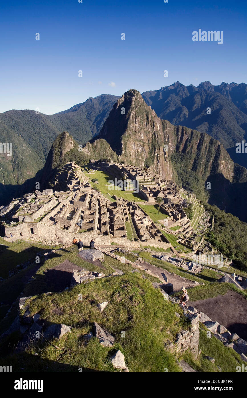 Machu Picchu, Peru' Photo Stock