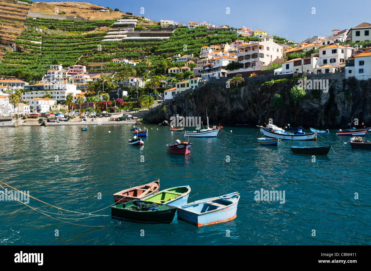 Camara de Lobos - Madeira Photo Stock