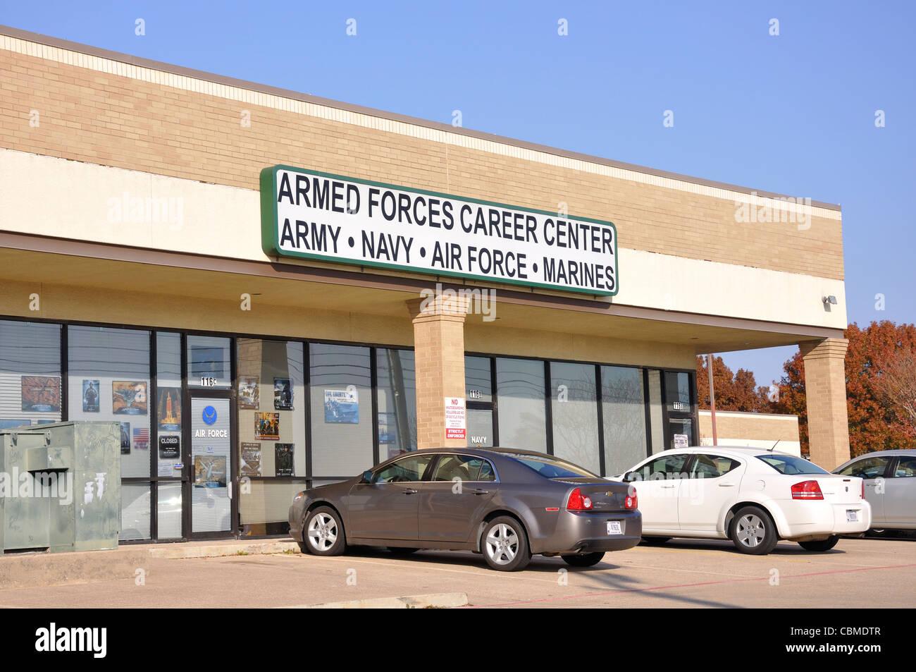 Centre de carrière des forces armées des États unis bureau de