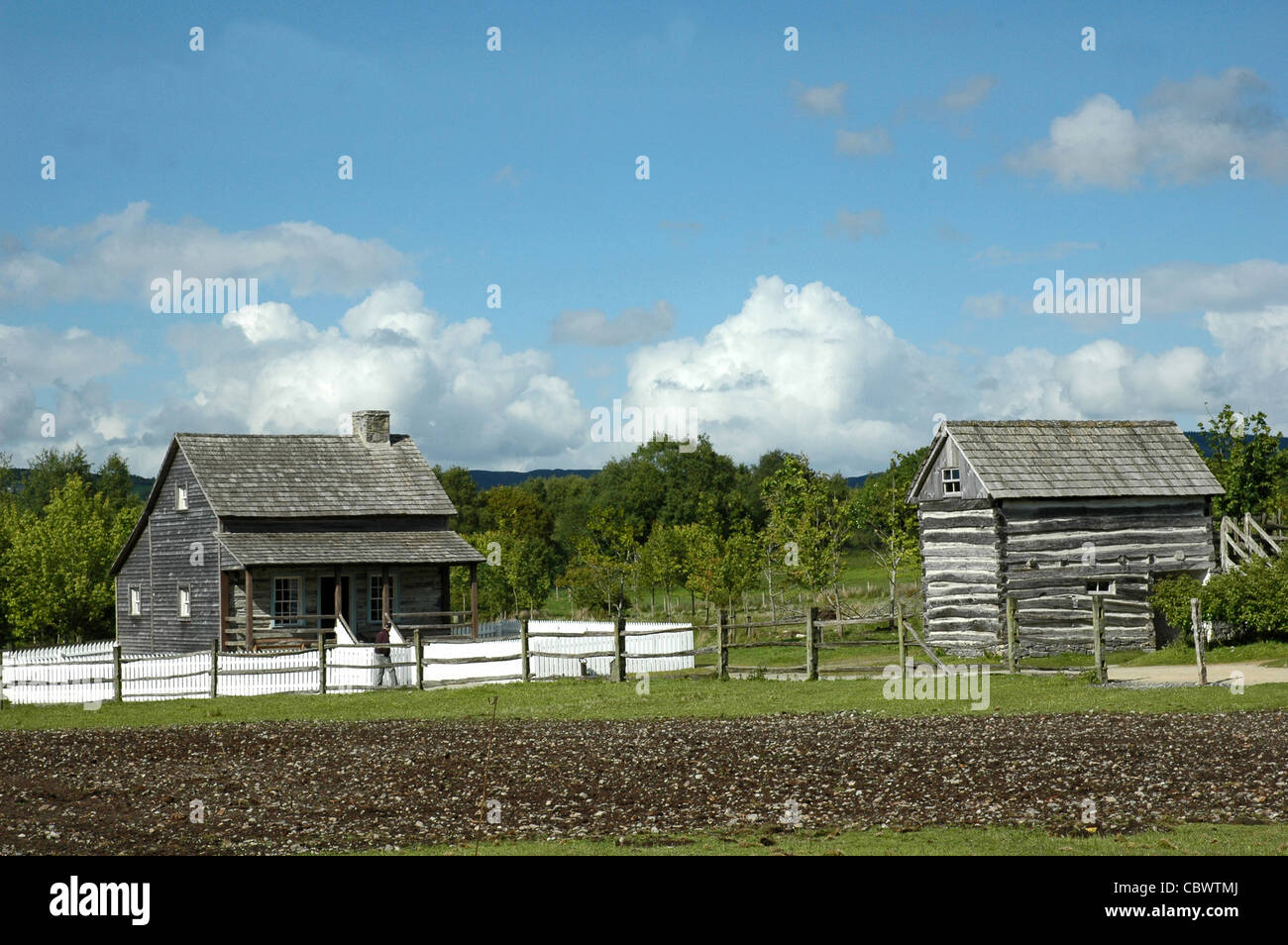 American Folk Park - Omagh - Irlande du Nord Photo Stock