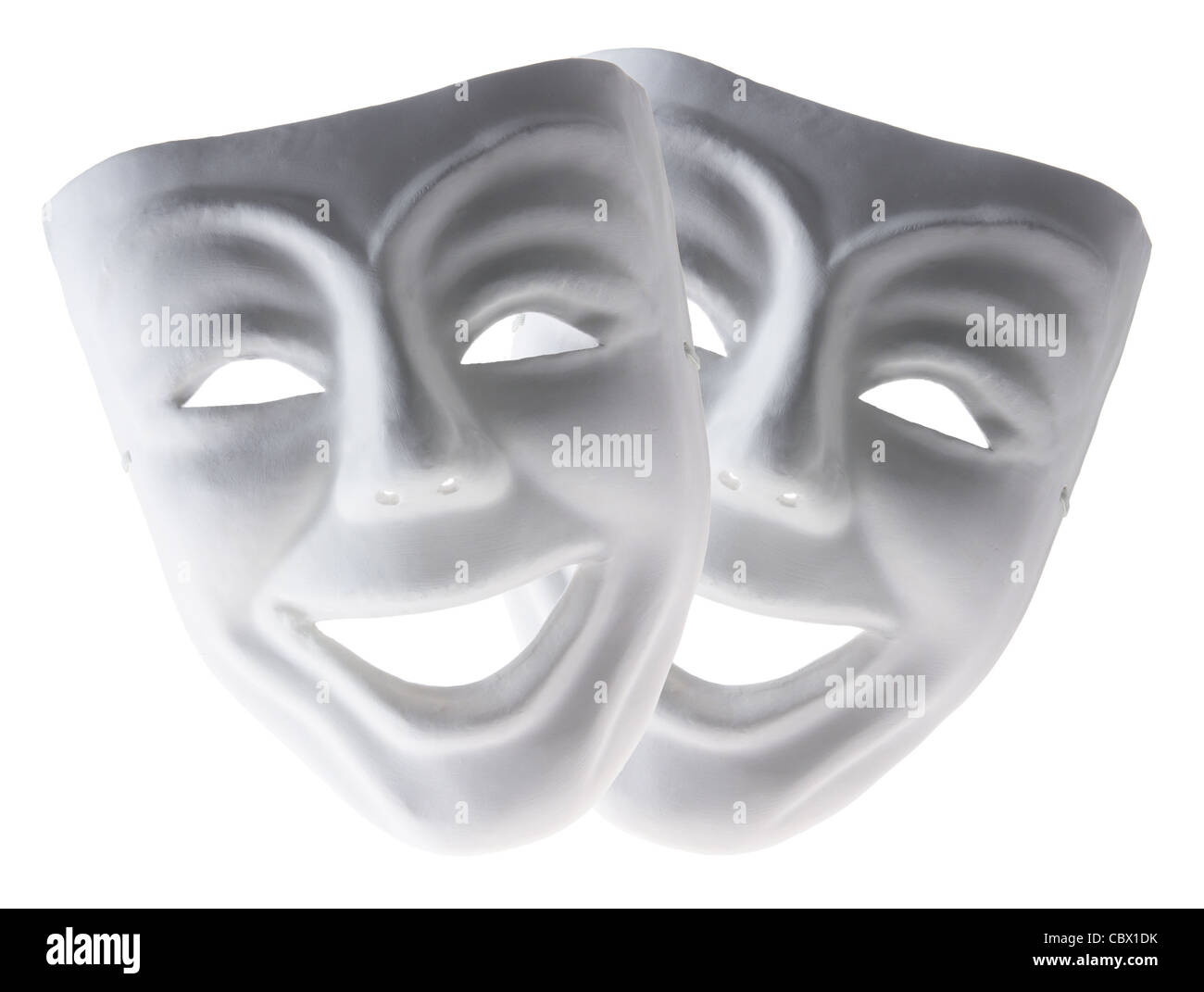 Masques faciaux Photo Stock