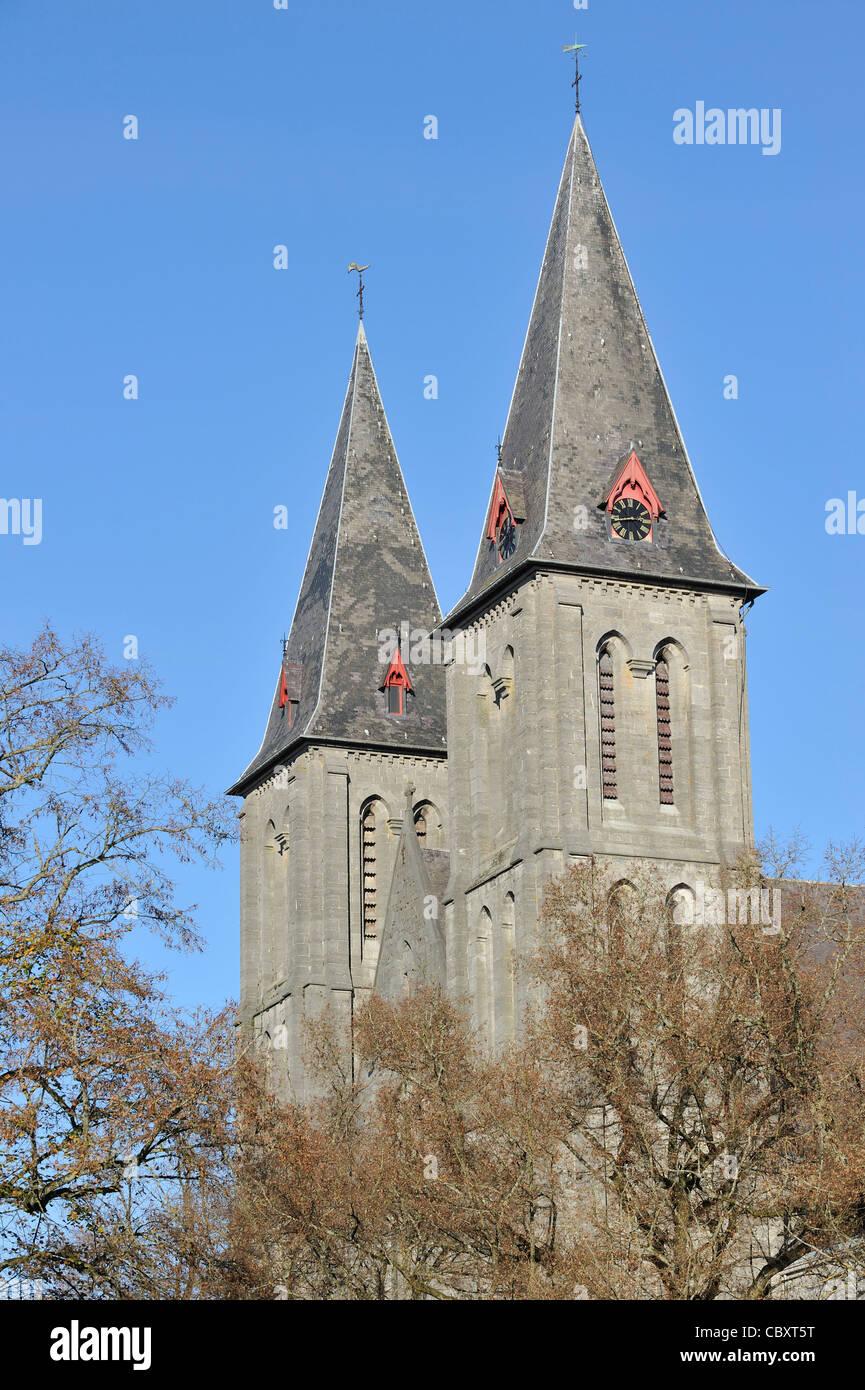 L'Abbaye de Maredsous, un monastère bénédictin à Denée, Belgique Photo Stock