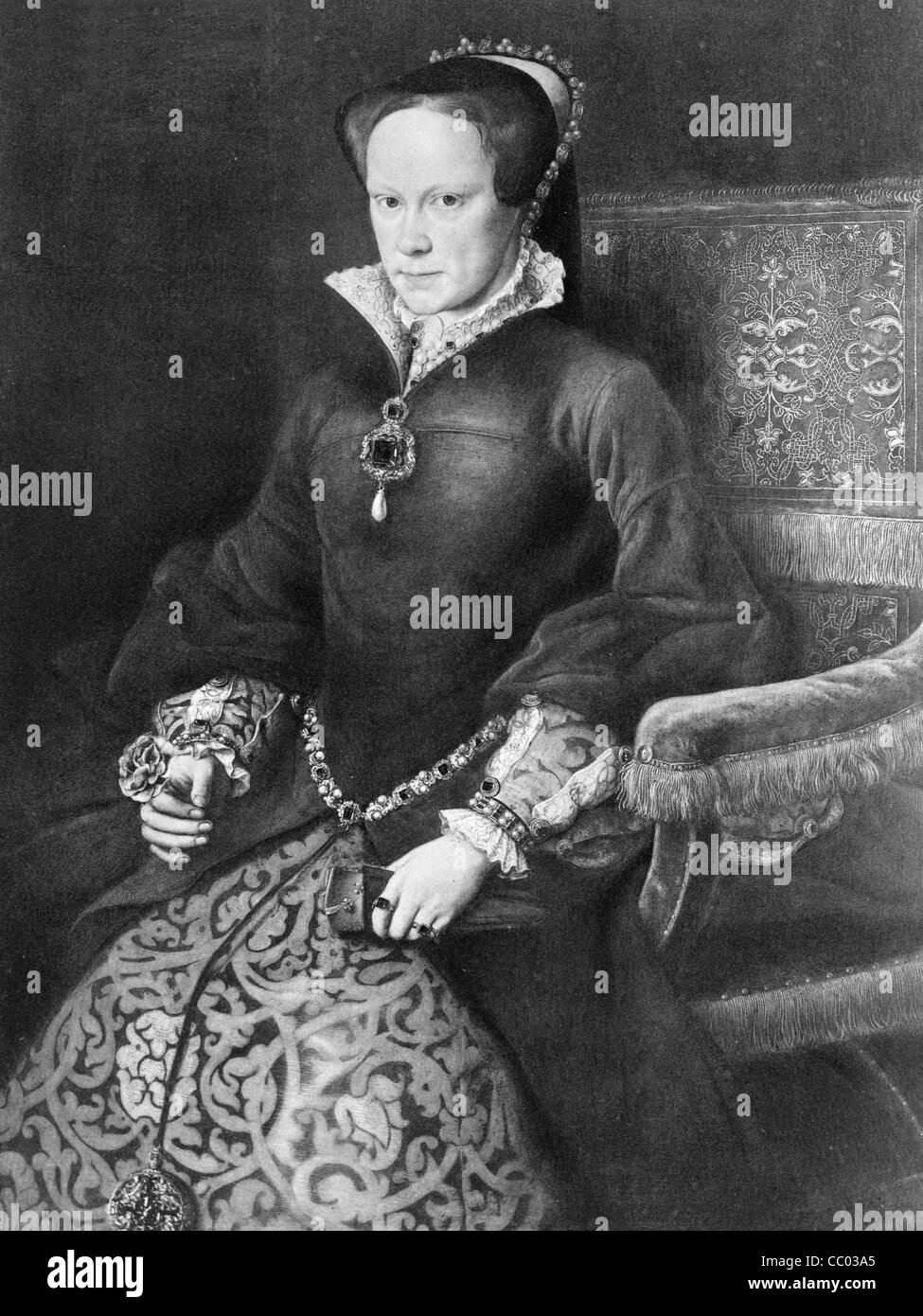 La Reine Marie I d'Angleterre, Photo Stock