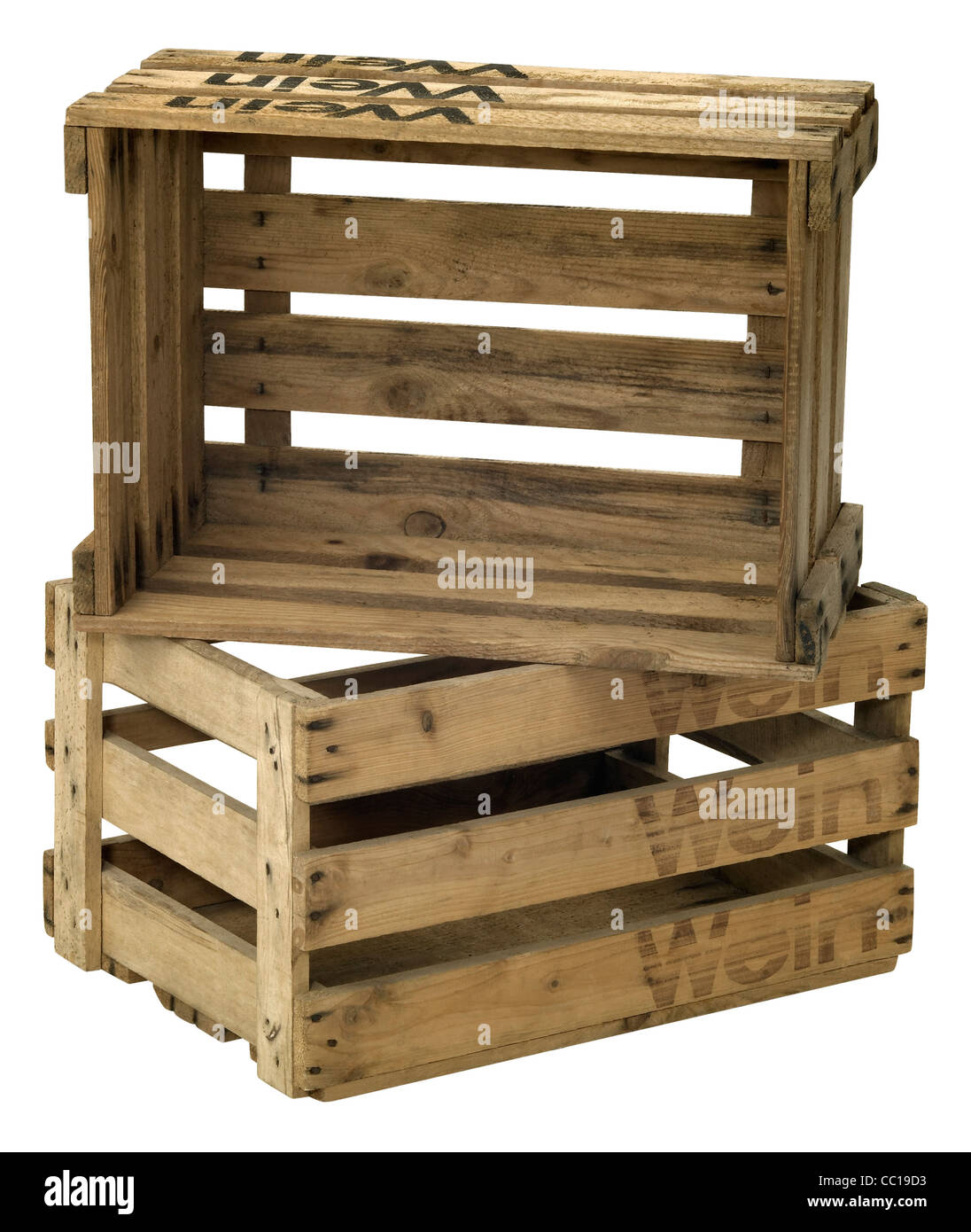 wooden cargo crate photos & wooden cargo crate images - alamy