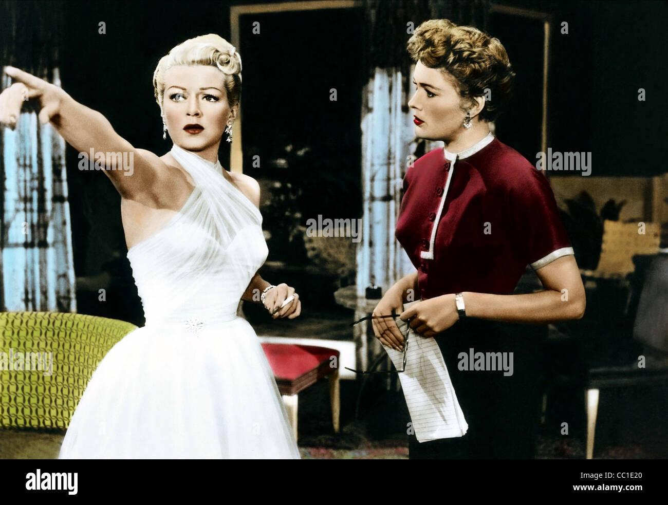 LANA TURNER, JEAN HAGEN, d'amants, 1953 Photo Stock